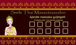 Ajándékmasszázs Smile Thai Masszázs Budagyöngye Bevásárlóközpont